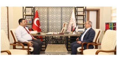 Başkan Özacar'dan ziyaret