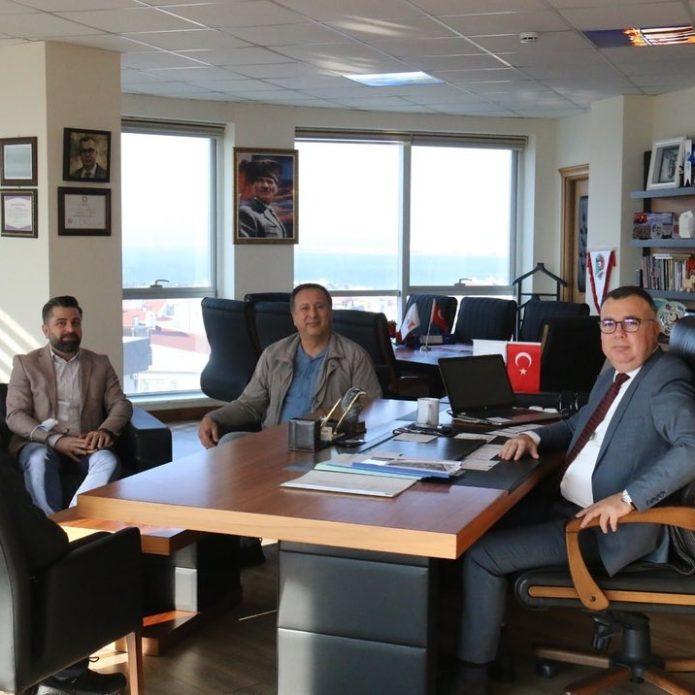 Başkan Arslan'ı ziyaret ettiler