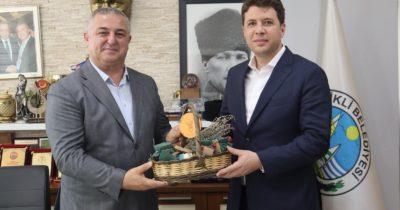 Kızılgüneş'ten Oruçoğlu'na ziyaret