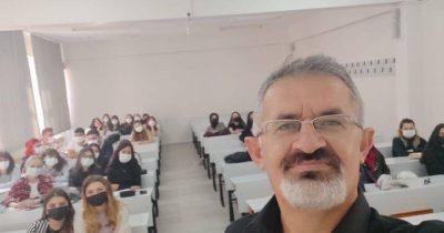 İlk ders selfiesi