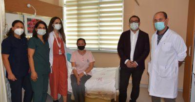 Rahim kanseri hastası, kapalı yöntem ameliyatla sağlığına kavuştu