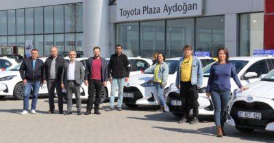 Aydoğan Plazadan sürücü kurslarına destek (videolu haber)