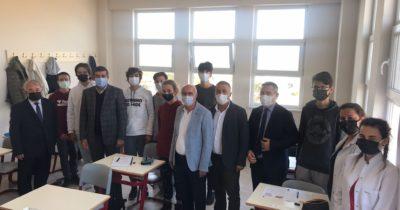 İbrahim Taşel'den Final Okullarına ziyaret