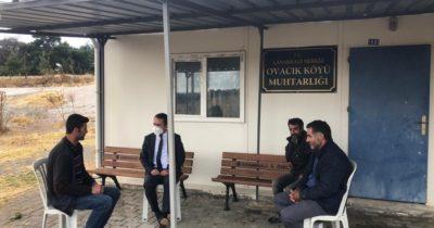 Vali Aktaş'ın köy ziyaretleri sürüyor